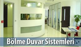 Bölme Duvar Sistemleri